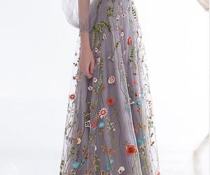 beauty, dress, and colors image