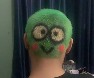 green, Grudge, and hair image