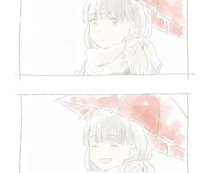 anime girl, cold, and japan image