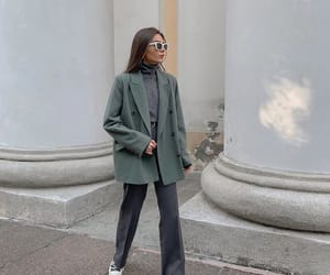 style, blazer, and outfit image