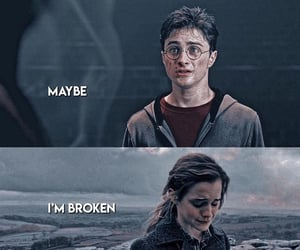 hp, harrypotter, and hermionegranger image