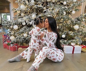 kylie jenner, christmas, and stormi image