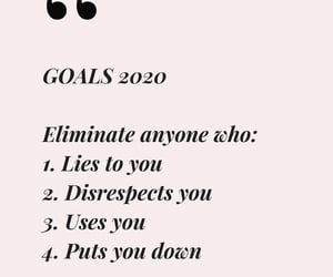 2020, goals, and quotes image