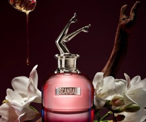 fragrance, gaultier, and inspiration image