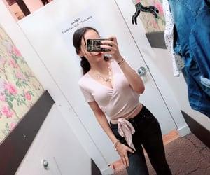 black jeans, petite, and garage image
