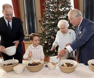 Elizabeth, prince george, and duke of cambridge image