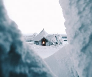 snow, travel, and wanderlust image