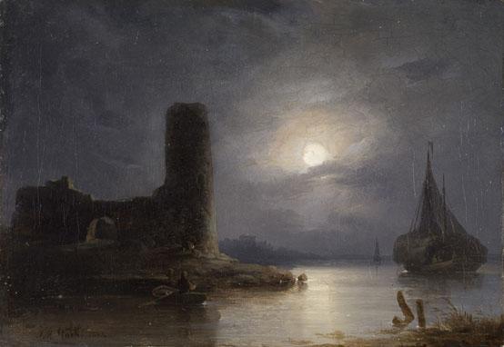 castle, dark, and romanticism image