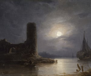 1843, art, and castle image