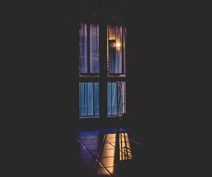 dark and window image