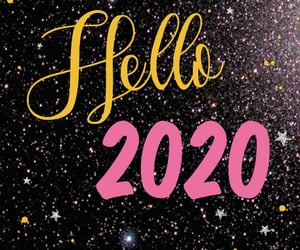 2020, quotes, and hello 2020 image