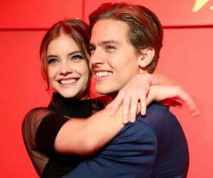 couple and dylansprouse image