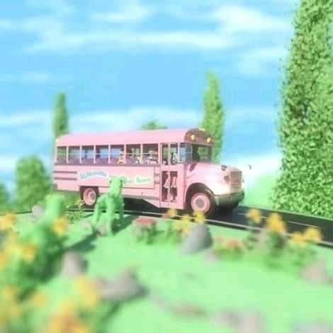 wheels on the bus, k 12, and melanie martinex image