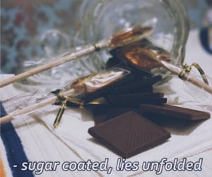 candy, subtitles, and sweet image