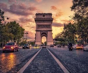 amazing, arc de triomphe, and beautiful image