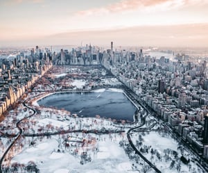 city and winter image