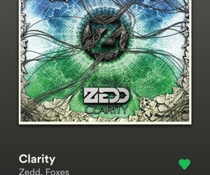 clarity, spotify, and zedd image