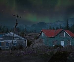 abandoned, night, and post apocalypse image
