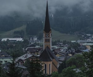 background, town, and travel image