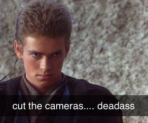 Anakin Skywalker, funny, and meme image