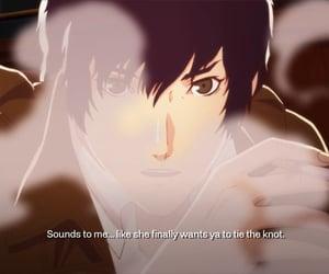 anime, brown, and catherine image