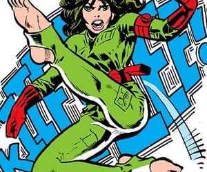 comics, kick, and Marvel image