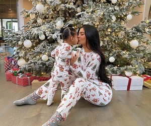 kylie jenner, christmas, and stormi image