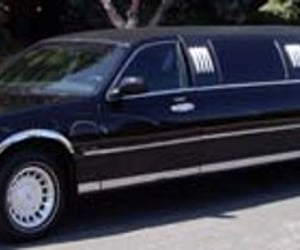 death, limousine, and funeral image