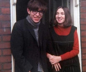(1965) and stephen hawking&his wife image