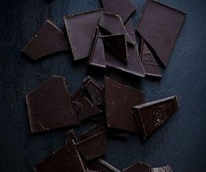 chocolate, dark, and food image