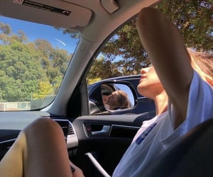 car, girl, and aesthetic image