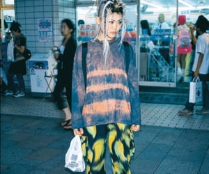 90s, Harajuku, and japan image