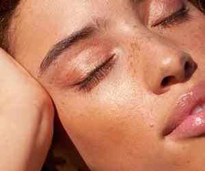aesthetic, eyeshadow, and freckles image