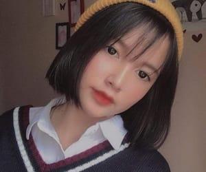 korean, ulzzang, and makeup image