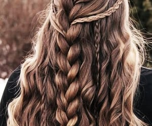 hair, braids, and hairstyle image