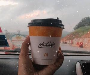 car, mc donald, and travel image