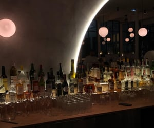 bar, drinks, and drink image