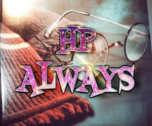 always, glasses, and hogwarts image