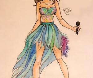 selena gomez, selena, and draw image