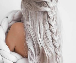 hair, hairstyles, and women image