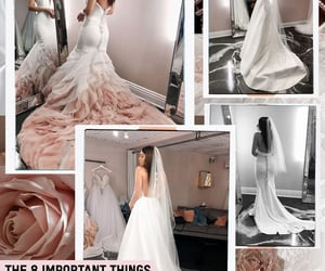 aesthetic, bridal, and Collage image