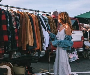 clothing, fashion, and flea market image