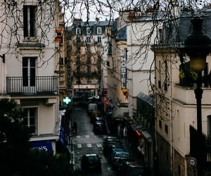 building, france, and street image
