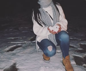 amazing, shoes, and snowing image