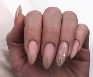 nails, fashion, and stars image