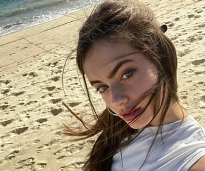 beauty, model, and selfie image