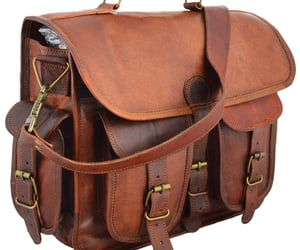 etsy, leatherbag, and genuine leather image