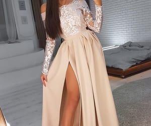 evening gown, vestido de festa, and robe de soirée image