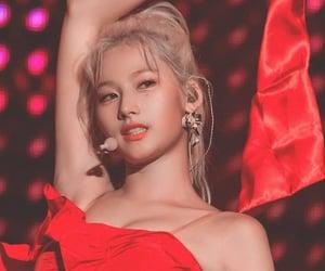 girl, JYP, and once image