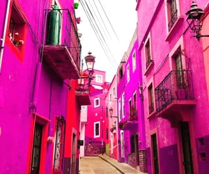 architecture, mexico, and pink image